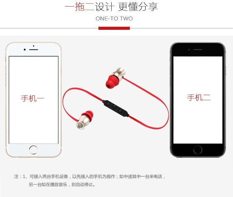 Caldecott Wireless In-Ear Bluetooth Headset Earphone Earpod Headphone