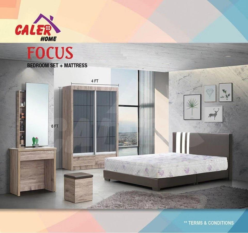 [CALER] FOCUS BEDROOM SET