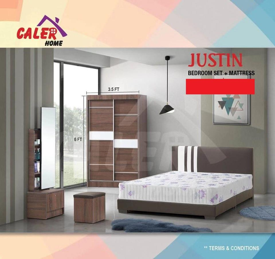 [CALER] JUSTIN BEDROOM SET