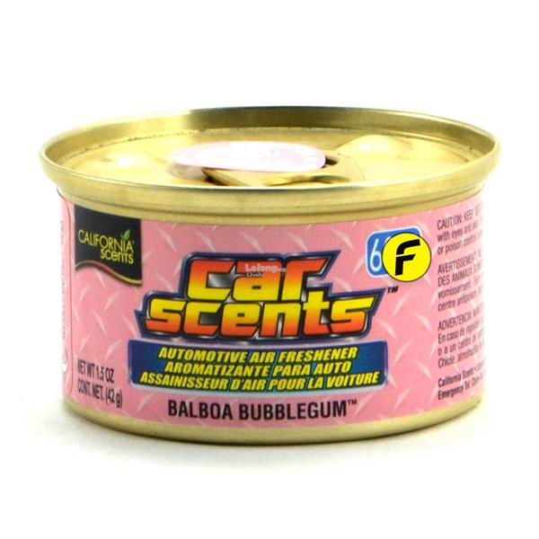 California Scents Balboa Bubblegum Car Air Freshener Made in USA