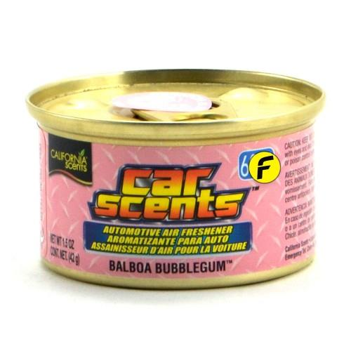 CALIFORNIA SCENTS BALBOA BUBBLEGUM CAR AIR FRESHENER MADE IN USA - ORG