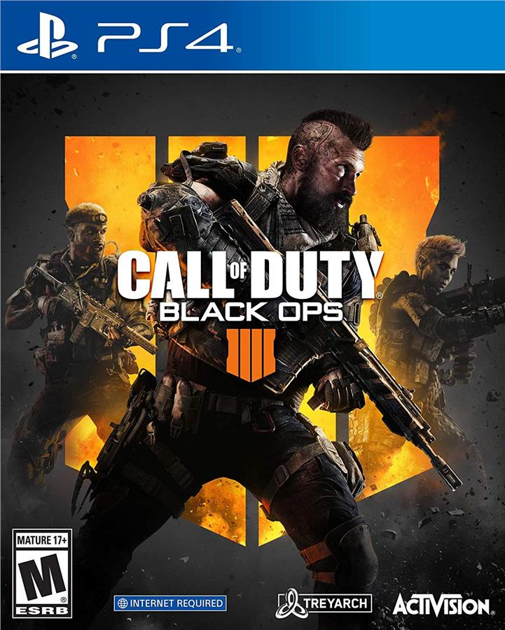 Call of Duty: Black Ops 4 (R3)- PS4 Standard Edition