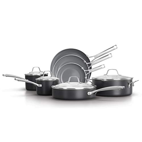 ..// Calphalon Classic Oil-Infused Ceramic PTFE and PFOA Free Cookware, 11-Pie