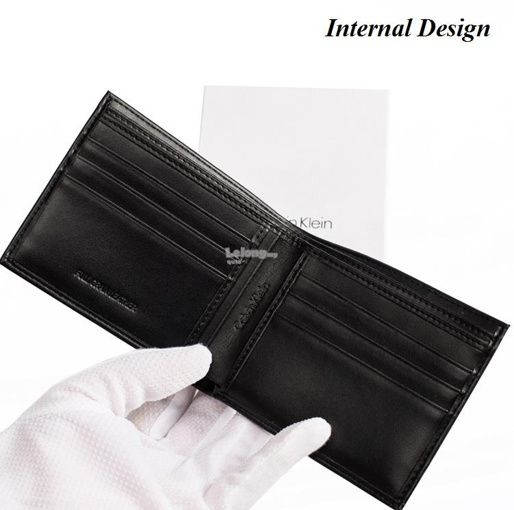 latest style of 2019 hot product many styles Calvin Klein – Original Short Leather Wallet for men