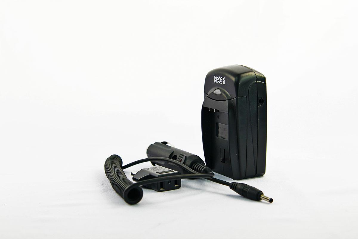 KEEP Camera battery and Car Charger FOR Panasonic Lumix CGA-S009 DMW-B