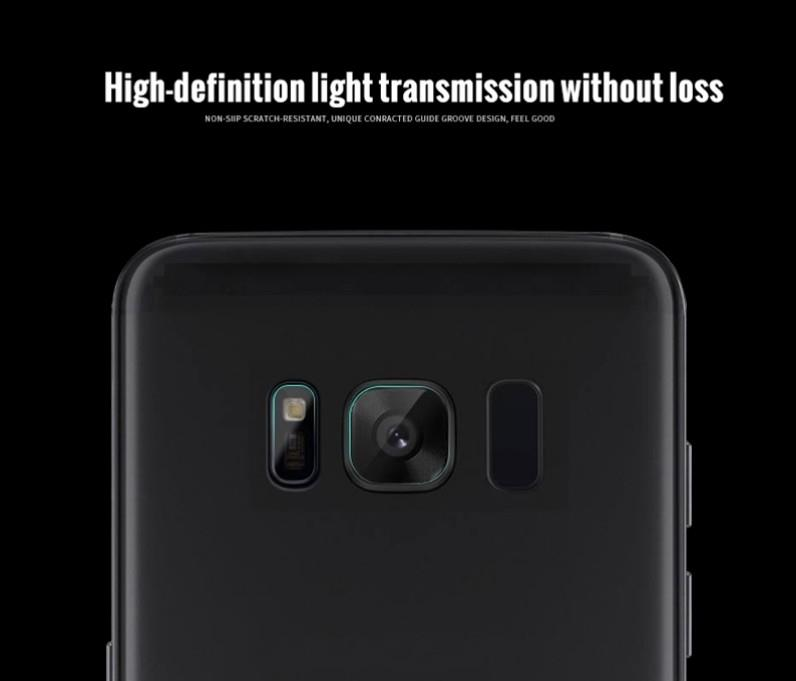 Camera Lens + Flash 2 in 1 Soft Tempered Glass Samsung Galaxy S8 / S8+