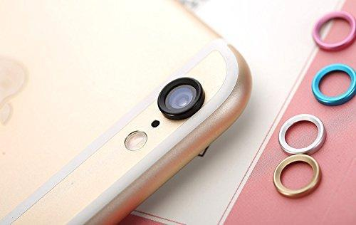 Camera Lens Home Button Protector Ring For IPhone 6 6S 6 Plus 6S Plus