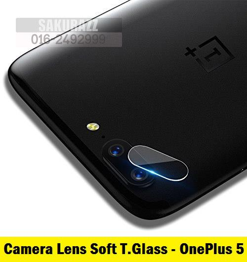 Camera Soft Tempered Glass Camera Lens Protector OnePlus 5 (HD Clear)