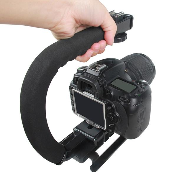 Camera Top Handle Video Stabilizer Grip Bracket