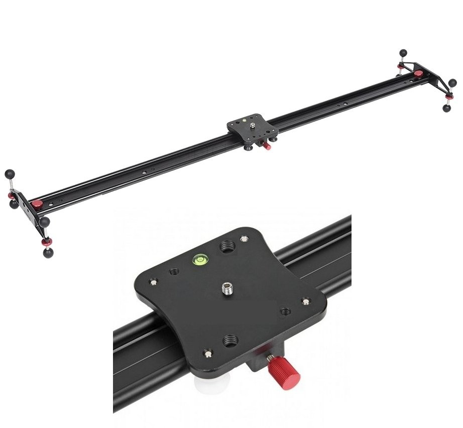 Camera Video Slider 80cm M80 With Smooth Ball Bearing
