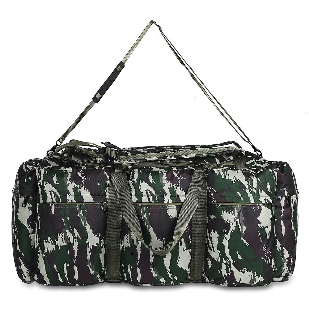 CAMOUFLAGE GREEN 90L Outdoor Mountaineering Bag Military Hiking Travel..