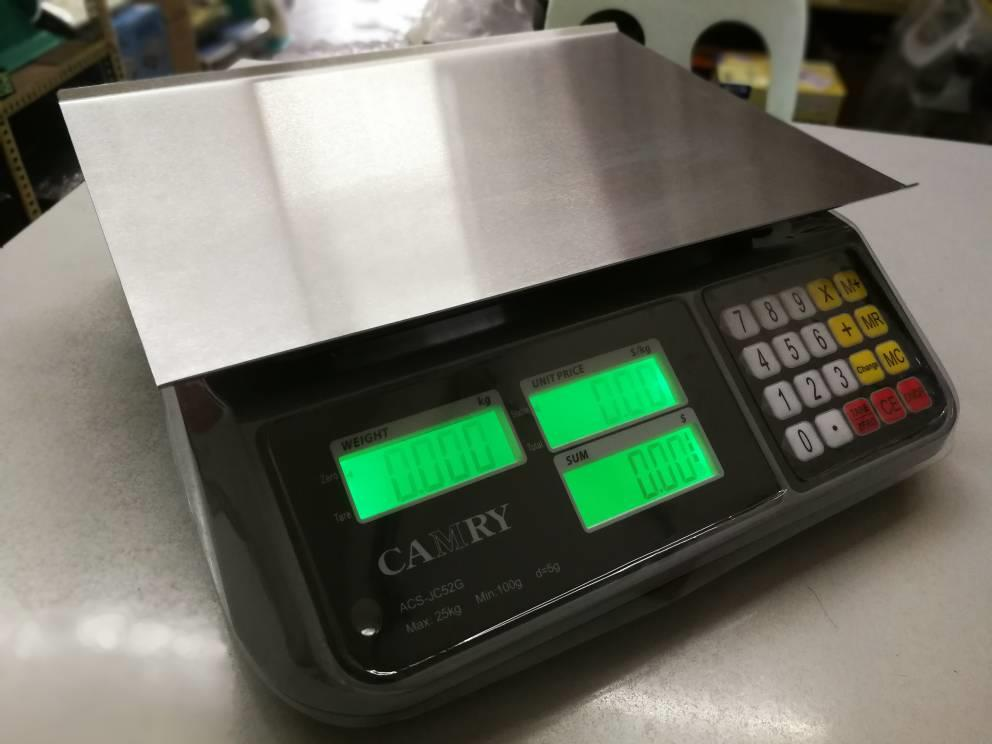Camry Electronic Price Computing Scale 25kg/5g