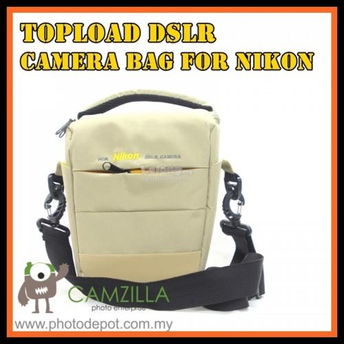 CAMZILLA N-SERIES CAMERA BAG - 0944 NIKON -(Brown/Cream)