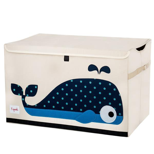 CANADA 3SPROUTS WHALE TOY CHEST