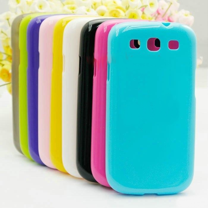 New Candy Color soft TPU case For Samsung galaxy s3 i9300, for Galaxy
