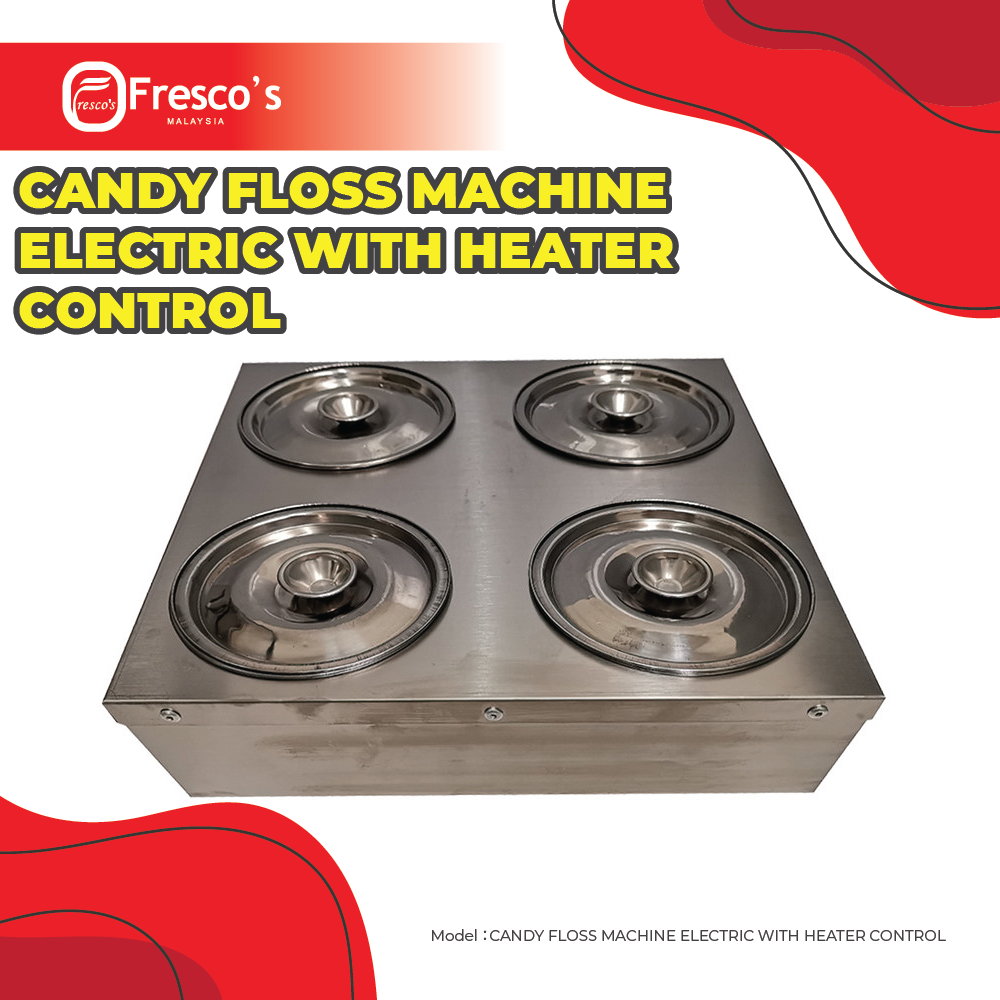 CANDY FLOSS MACHINE ELECTRIC WITH HEATER CONTROL