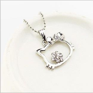 Candy girl hello kitty pendant rhines end 652019 137 pm candy girl hello kitty pendant rhinestone necklace set x2705 mozeypictures Image collections