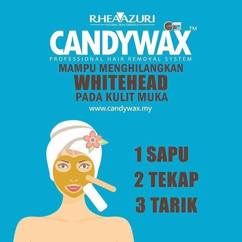 CANDYWAX Hair Removal by Rheaazuri (450 gm) CANDY WAX SET KIT