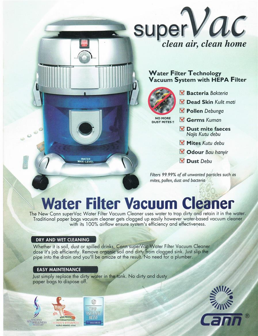 Cann wet & dry Water Filter Vacuum C (end 7/20/2018 1:15 PM)