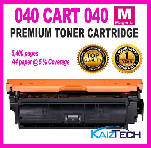 Canon 040 CRG 040 Cartridge 040 Magenta Compatible Colour Laser Toner