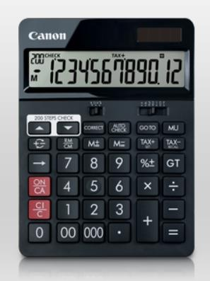 CANON 12 DIGITS CALCULATOR (AS-2288R)
