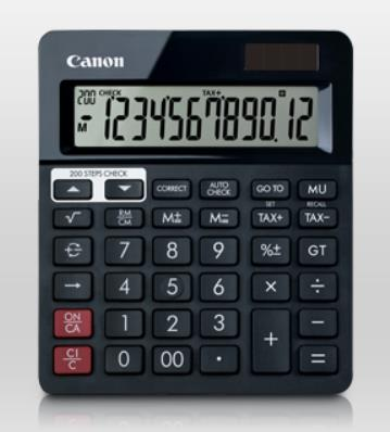 CANON 12 DIGITS CALCULATOR (AS-288R)