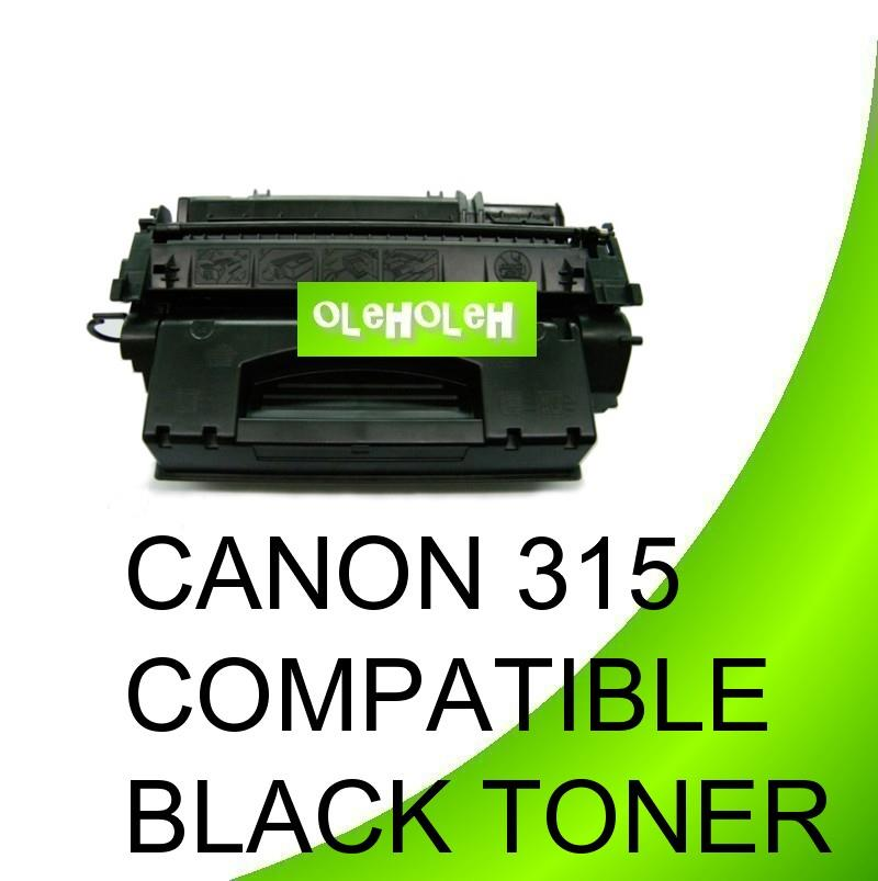 *Canon 315 Compatible Black Toner For Canon Laser Printer LBP3370