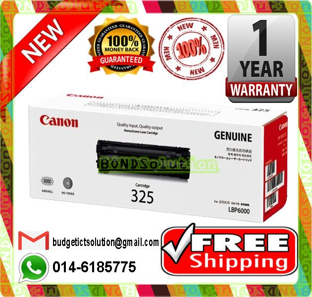NEW CANON 325 BLACK Toner (FREE SHIPPING)