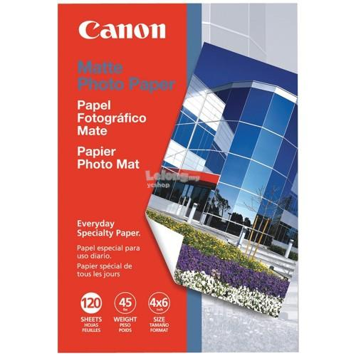 "Canon 4"" X 6"" Matte Photo Paper 120shts (MP-101)"