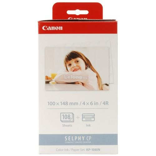 Canon 4R Paper for SELPHY CP400/500/600/710/720/740 (KP108IN)