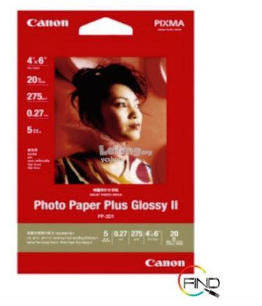 Canon 4R Photo Paper Plus Glossy 20's (PP-201-4R)