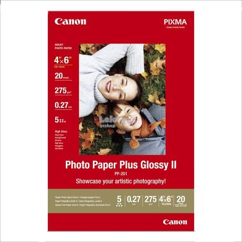 CANON 4R PLUS GLOSSY II PAPER 20SHEETS (PP-201)