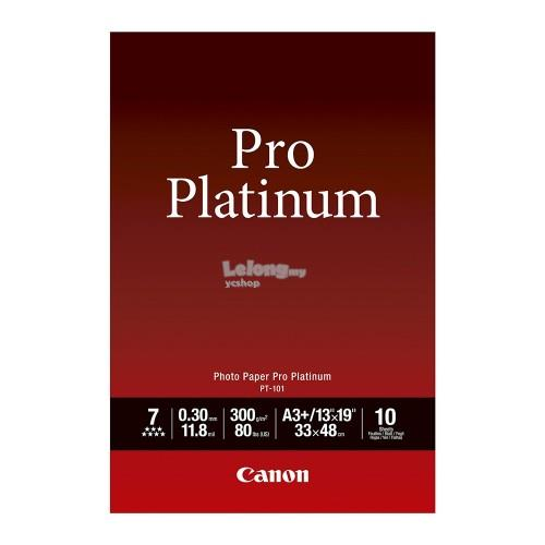 CANON A3+ Photo Paper Pro Platinum 10's (PT-101-A3+)