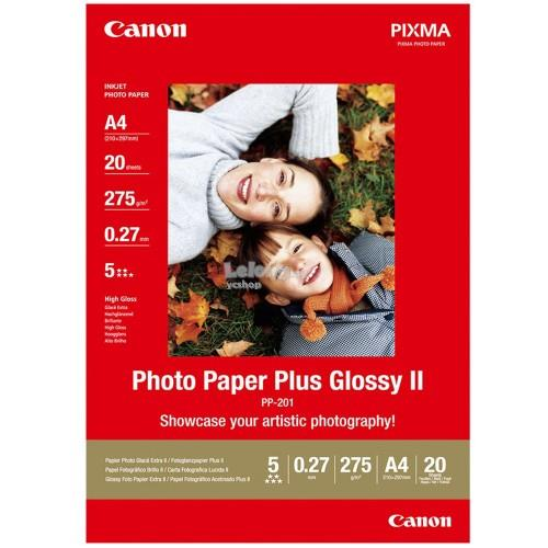 Canon A4 Photo Paper Plus Glossy (20shts) (PP-201)