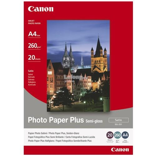 Canon A4 Photo Paper Plus Semi-Gloss 20's (SG-201-A4)