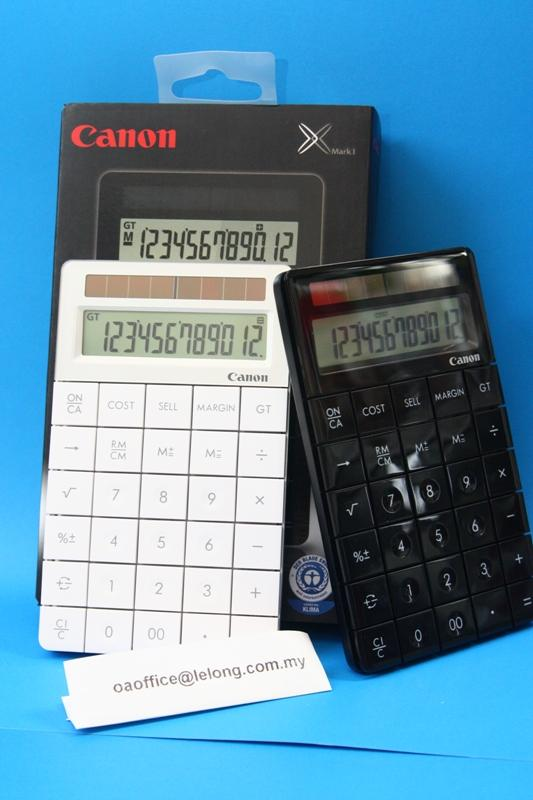 Canon Calculator Designer Series X Mark I