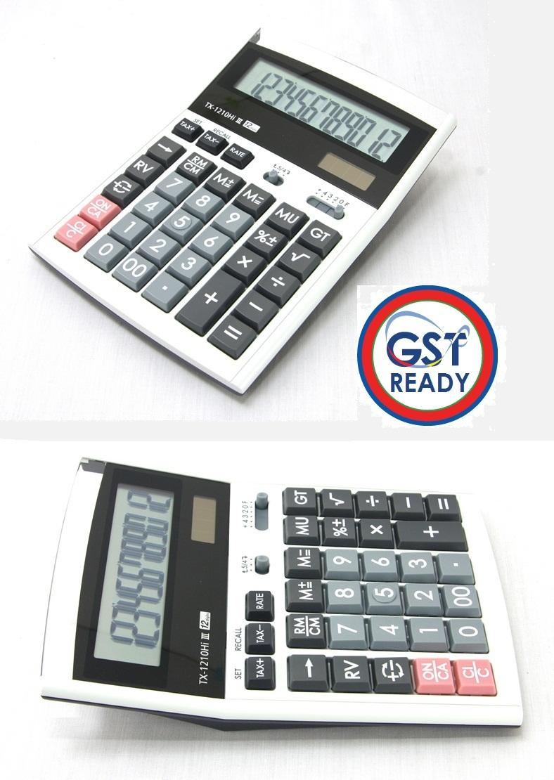 Canon Calculator Desktop TX-1210HI III 12 Digits