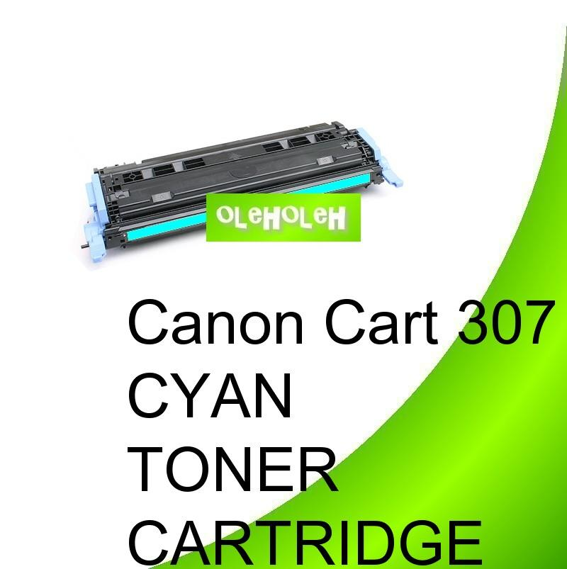 Canon Cart 307 Compatible Cyan Toner For Canon LBP5000 LBP5100