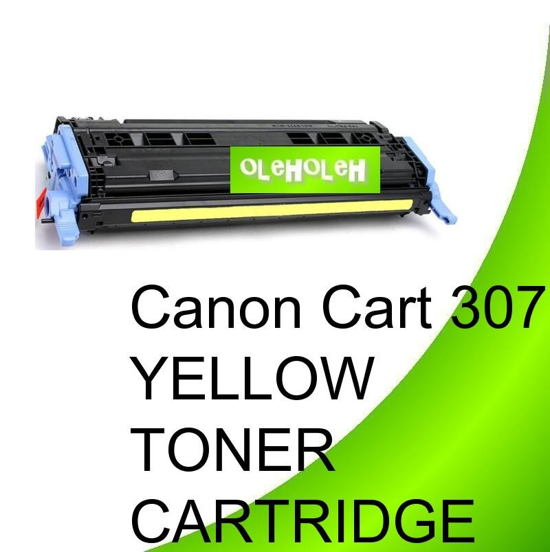 Canon Cart 307 Compatible Yellow Toner For Canon LBP5000 LBP5100