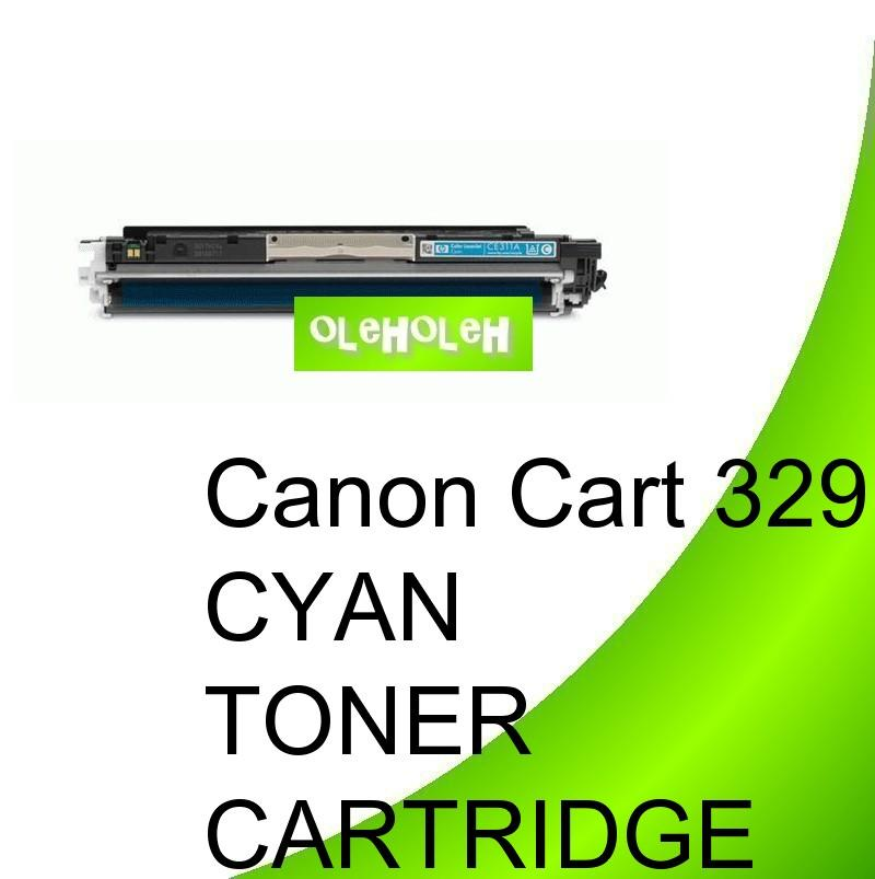 *Canon Cart 329 Compatible Cyan Toner For Canon LBP7010 LBP7018c