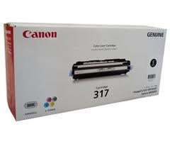 Canon Cartridge 317 BLACK Toner (Genuine)