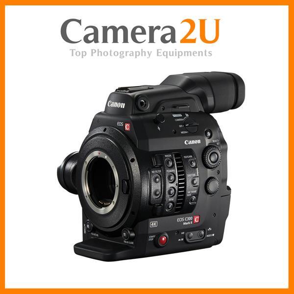 Canon Cinema EOS C300 Mark II Camcorder Body with Dual Pixel CMOS AF (
