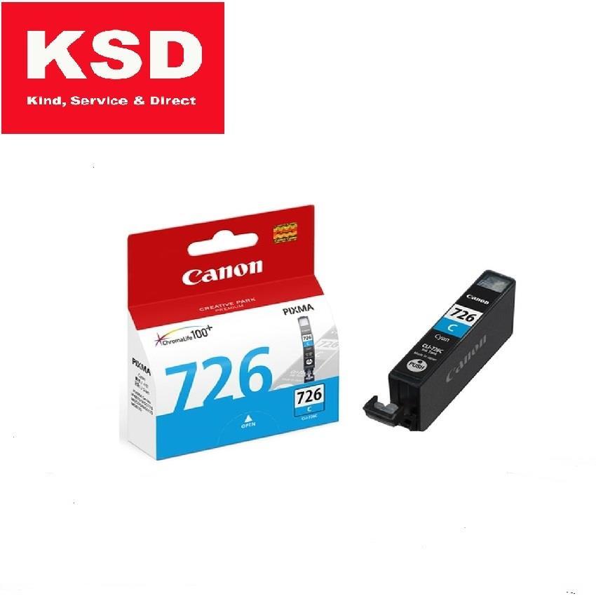 Canon CLI-726 Cyan Ink Cartridge. ‹ ›