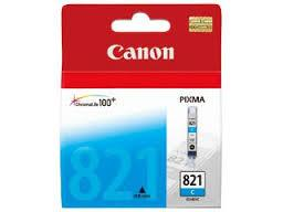 Canon CLI-821C CYAN Ink (Genuine) 3680 4680 4760 545 558 568 628 821