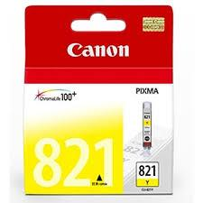Canon CLI-821Y YELLOW Ink (Genuine) 3680 4680 4760 545 558 568 628 821