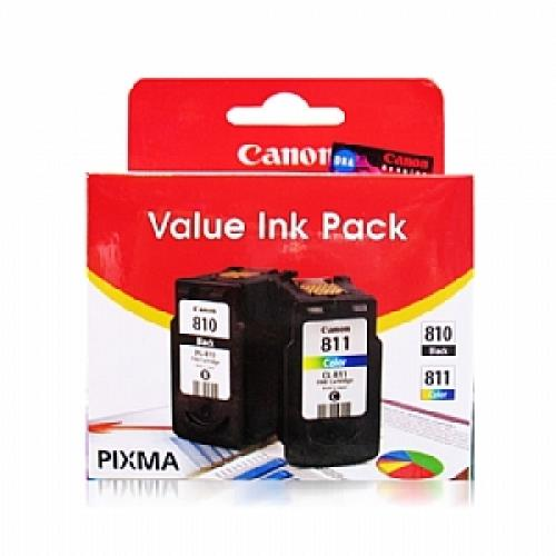 CANON COMBO VALUE INK CARTRIDGE (PG-810 + CL-811)
