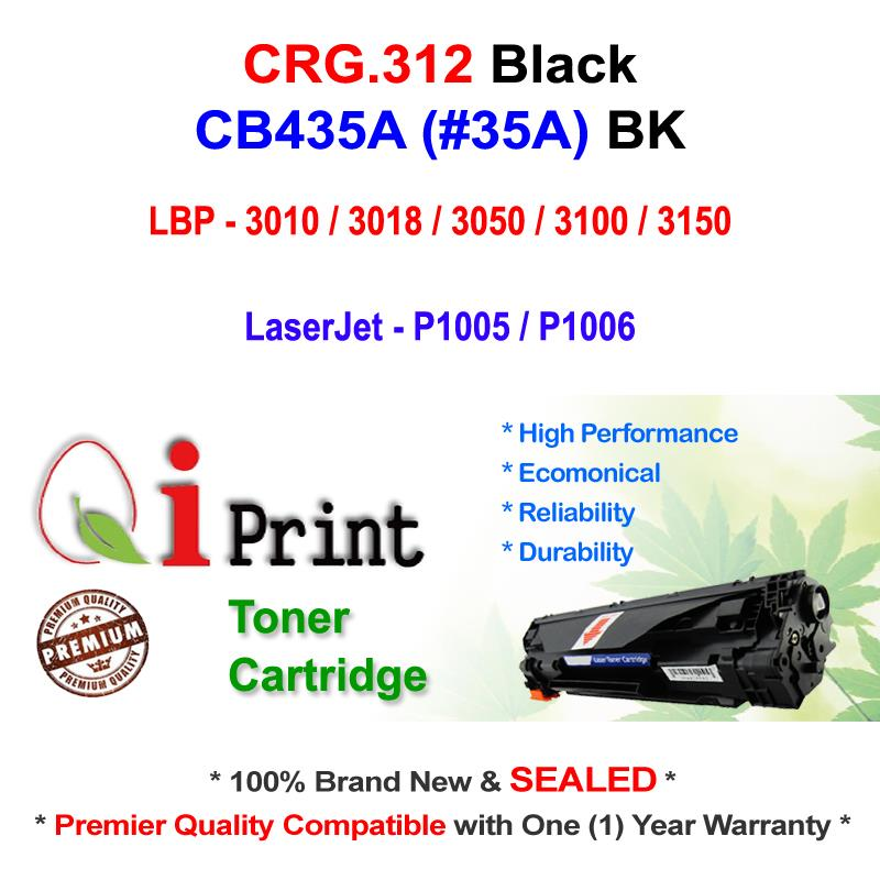 CANON CRG 312 LBP3010 LBP3050 CB435A Toner Compatible * NEW SEALED *