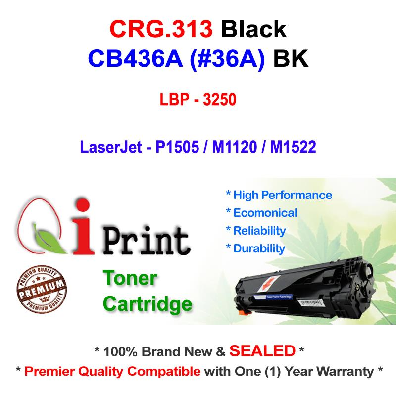 CANON CRG 313 LBP3250 CB436A Toner Compatible * NEW SEALED *