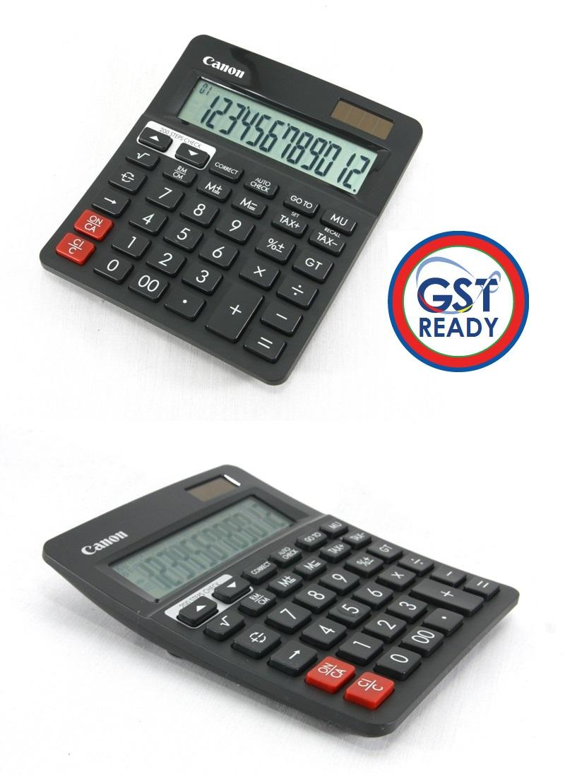 Canon Desktop Calculator Taxed Function GST Ready