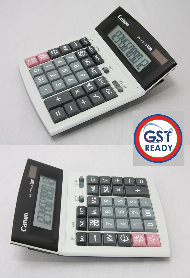 Canon Desktop GST Ready Tax Calculator 12 Digits